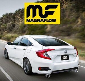 Image Is Loading Magnaflow 2016 2018 Honda Civic Sedan 1 5l