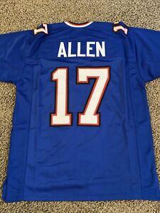 Details about Josh Allen Buffalo Bills Blue NFL FOOTBALL JERSEY Stitched Adult XL - NEW!