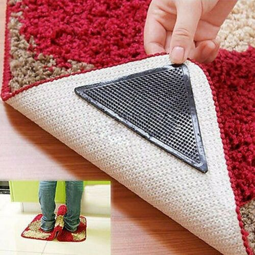 Eco-friendly and Reusable Rug Carpet Mat Grippers Anti Skid Washable Grip Hot !!