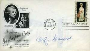 Mitzi-Gaynor-Jsa-Coa-Hand-Signed-Fdc-Authenticated-Autograph