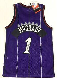 brand new 83ac8 d3614 Details about Tracy McGrady Signed Toronto Raptors Authentic 90s's Jersey  BNWT 40 JSA Coa