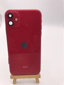 Genuine-Apple-iPhone-11-REAR-RED-BACK-CHASSIS-HOUSING-WITH-PARTS