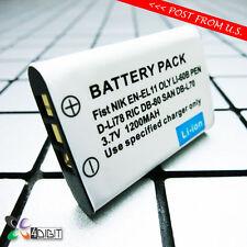 D-LI78 DLI78 Battery for Pentax Optio L50 M50 M60 S1 V20 W60 W80 Digital Camera