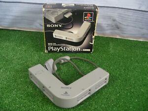 PLAYSTATION 1 Multitap Adaptador 4 modo multi jugador SCPH - 1070 ** ** En caja PS1 Probado