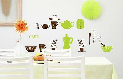 Kitchen ware Home Decor Removable Wall Sticker/Decal/Decoration
