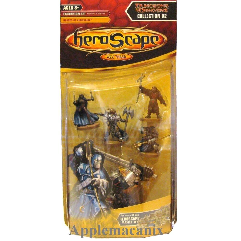 Nuevo Heroscape guerreros de eberron D2 héroes de Khorvaire Conjunto Onda 12 D12 D&D