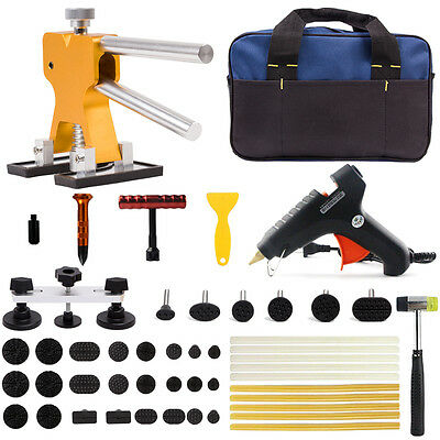 PDR Hail Paintless Dent Puller Lifter Removal UK Glue Gun Repair Ding Tool Kits