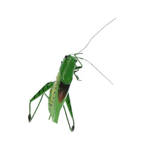 Realistische Insekt Dekofigur Aktion Figur Modell aus Ton Garten Katydid