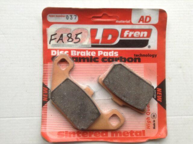 Gold Hose /& Stainless Purple Banjos Pro Braking PBF7691-GLD-PUR Front Braided Brake Line