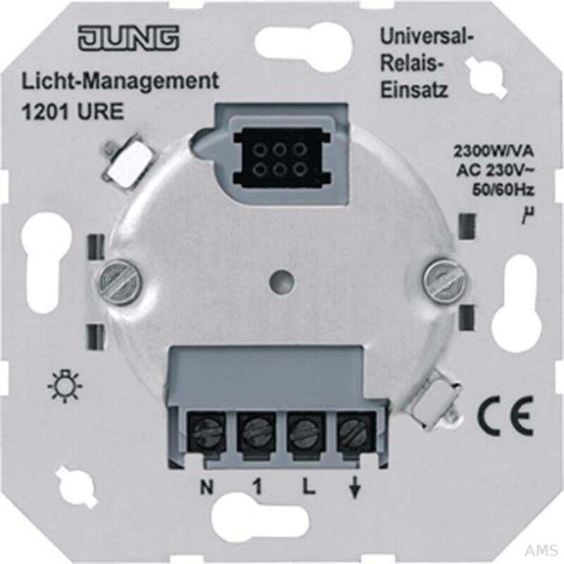 Jung Relais-Einsatz 1-kanalig 1201 URE | Wirtschaftlich und praktisch