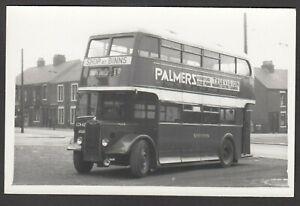 Bus-Photograph-postcard-size-CCN-42-destination-South-Shield-NOT-A-POSTCARD