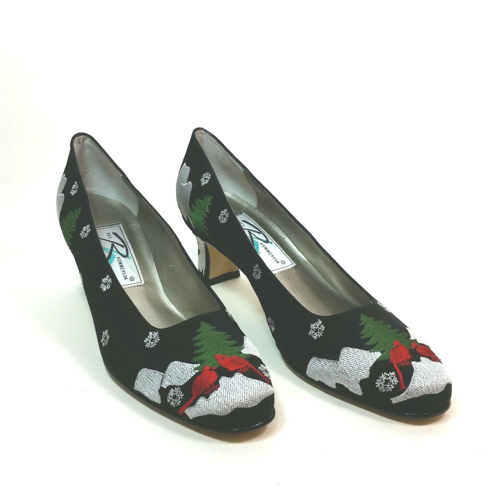 Ros Hommerson Womens 9.5 S Holiday Party Pumps Heels Ugly Ugly Ugly Tacky Christmas shoes 45b8dc