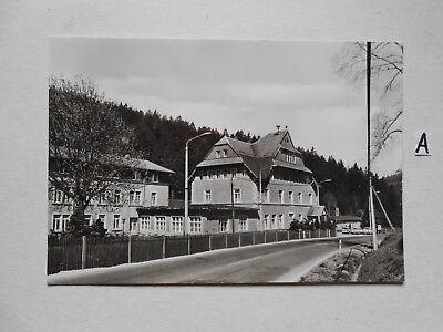 Postkarte Ansichtskarte Sachsen.bärenburg Kur-und Erholungs-ort Erholungsheim Wa Zahlreich In Vielfalt Sachsen Sachsen