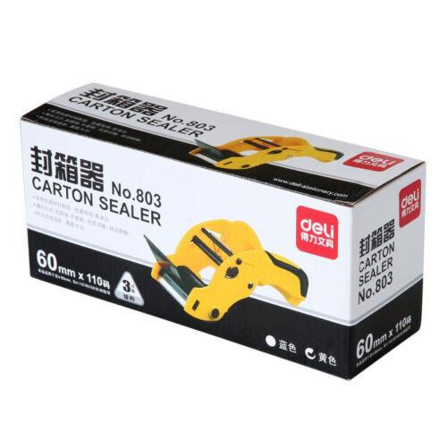 "2""inch Portable Tape Gun Dispenser Cutter Packing Carton Sealer Parcel Sealing"