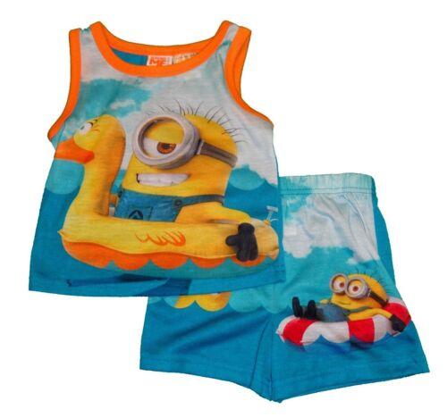 Boys/' 2-Piece Pajama Set Minions Disney Mickey Mouse Paw Patrol Chase  NWT