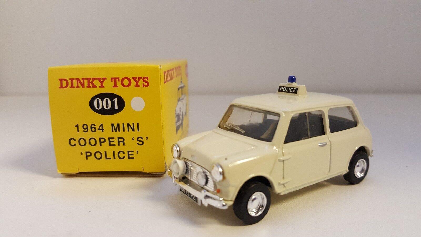 Dinky Toys (Code 2) - Mini Cooper S Police
