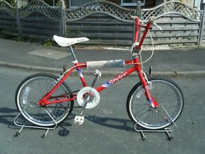 "vintage raleigh styler burner  bmx bike bicycle 20"" wheels original condition"
