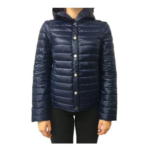 Abside 100 Mod Polyester Court Manches Bleu Femme Détachable Pennyblack Duvet 7wq8y0