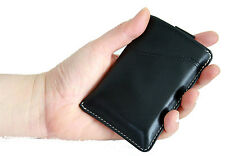 Genuine Leather Men Card Wallet / Sleeve Slim Thin with RFID ANti THeft Protect