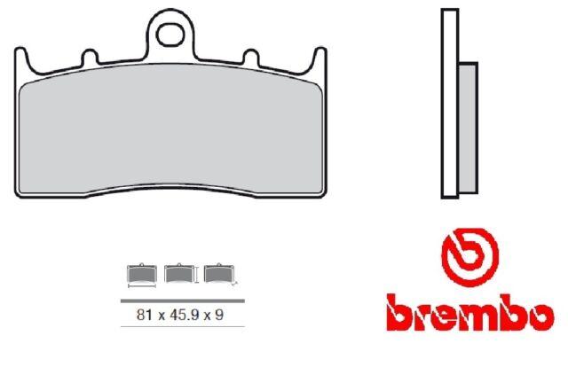 Emballage Plaquettes Brembo 07gr62cc Carbo Céramique Moto Top Line Route