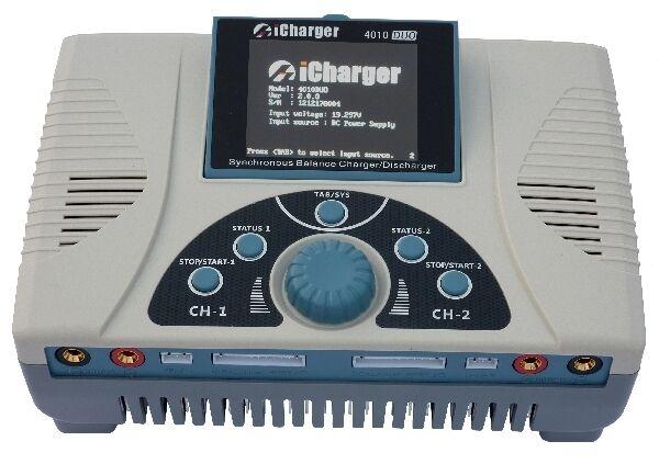 ICharger 4010DUO 40A 2000W de doble puerto cargador de batería descargador 4010 Duo Nuevo