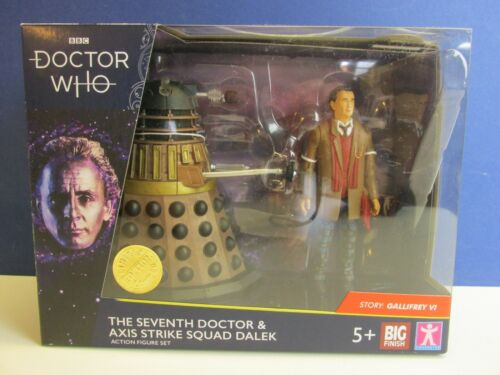 NUOVO Dr Who 7th IL SETTIMO Dottore /& Asse Strike Squad Dalek Action Figure Set
