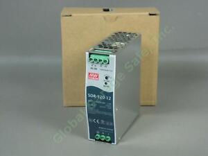 Mean-Well-SDR-120-12-120W-12V-10A-Advanced-Industrial-DIN-Rail-Power-Supply-NR