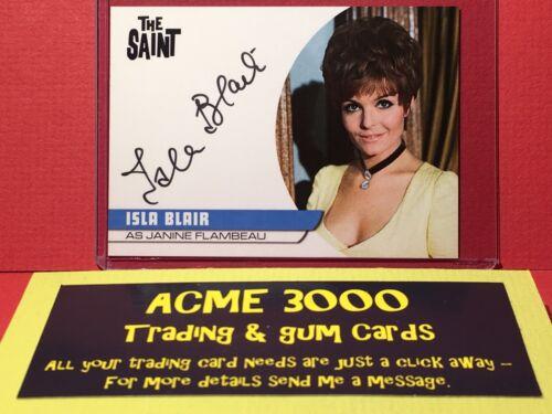 Janine Flambeau Unstoppable THE SAINT Autograph Card CC1 ISLA BLAIR
