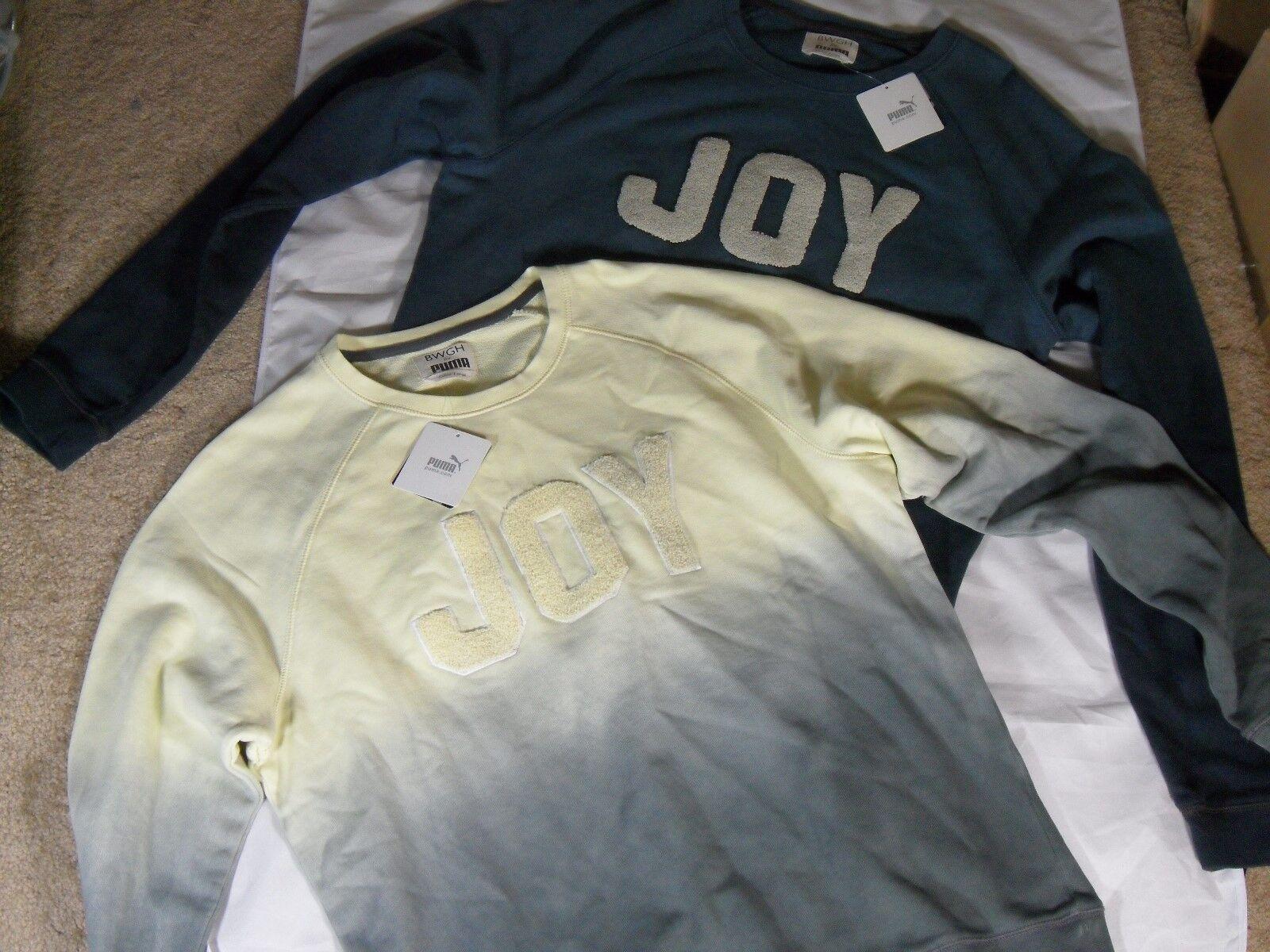 New Puma BWGH Brooklyn We Go Hard Limited Edition Cotton Joy Sweatshirt Top