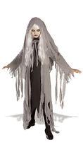 Girls Midnight Spirit Costume Spooky Creepy Scary Ghost Child Size Medium 8-10