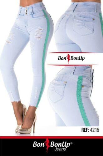 Jeans colombianos butt lifter fajas colombianas levanta cola Bon Bon Up 4215
