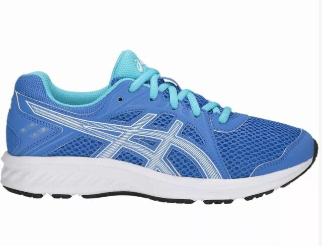 Kids ASICS Jolt 2 Running Shoe Lace-up Blue/aqua Size 5