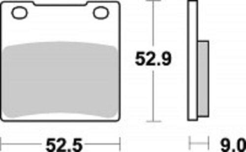 Bremsbeläge hinten Braking 719SM1 SUZUKI GS500E//F GSF600 GSF1200 Bandit TL1000