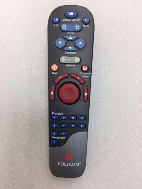 Polycom 2201-50031-003 SWP-2838WS-POL Remote Control Spanish - No Battery