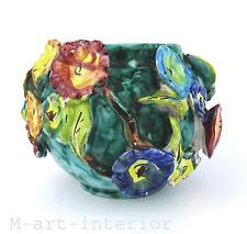 Keramik Vase wohl Österreich um 20er Jahre • Art Pottery Austria 1920s-1925s