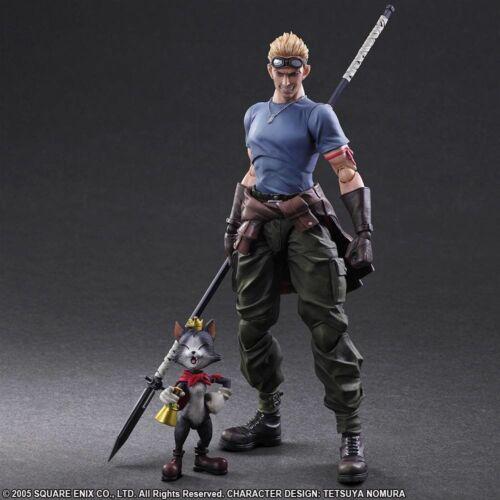 Final Fantasy VII Cid Highwind /& Cait Sith Play Arts Kai Action Figures