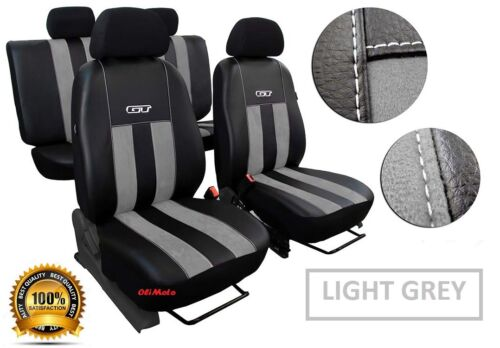 Alicante Tailored Set Seat Covers FORD RANGER WILDTRAK 2015-2018 Eco-Leather