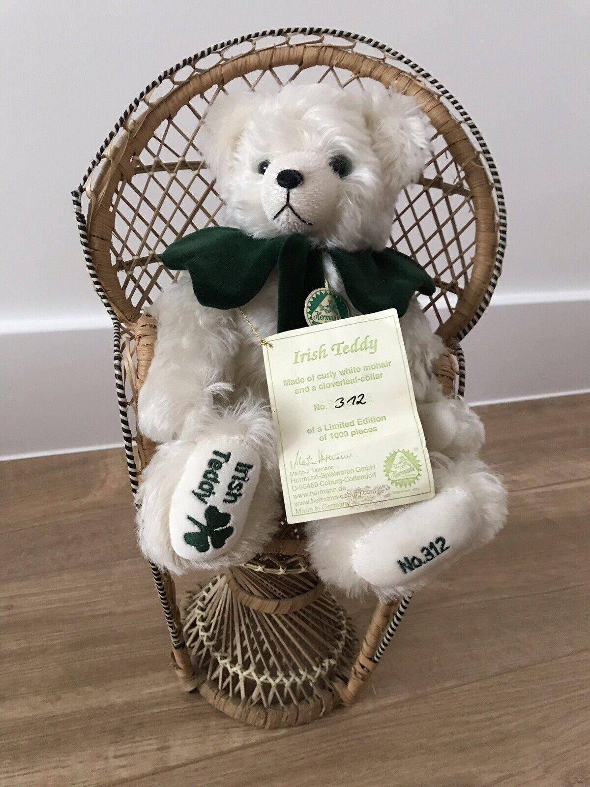 Irish teddy - Hermann Spielwaren Ltd Ed.312