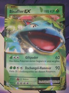 Pokemon BISAFLOR EX 1/108 Holo-XY12 Evolution NEAR MINT-de-NM