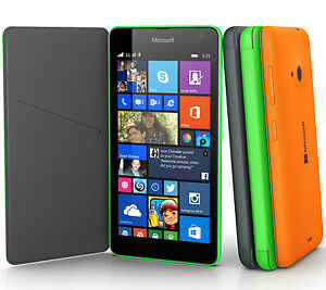 cheaper a3b82 f7a54 Details about Genuine Microsoft FLIP CASE Nokia Lumia 535 original  smartphone book cover back
