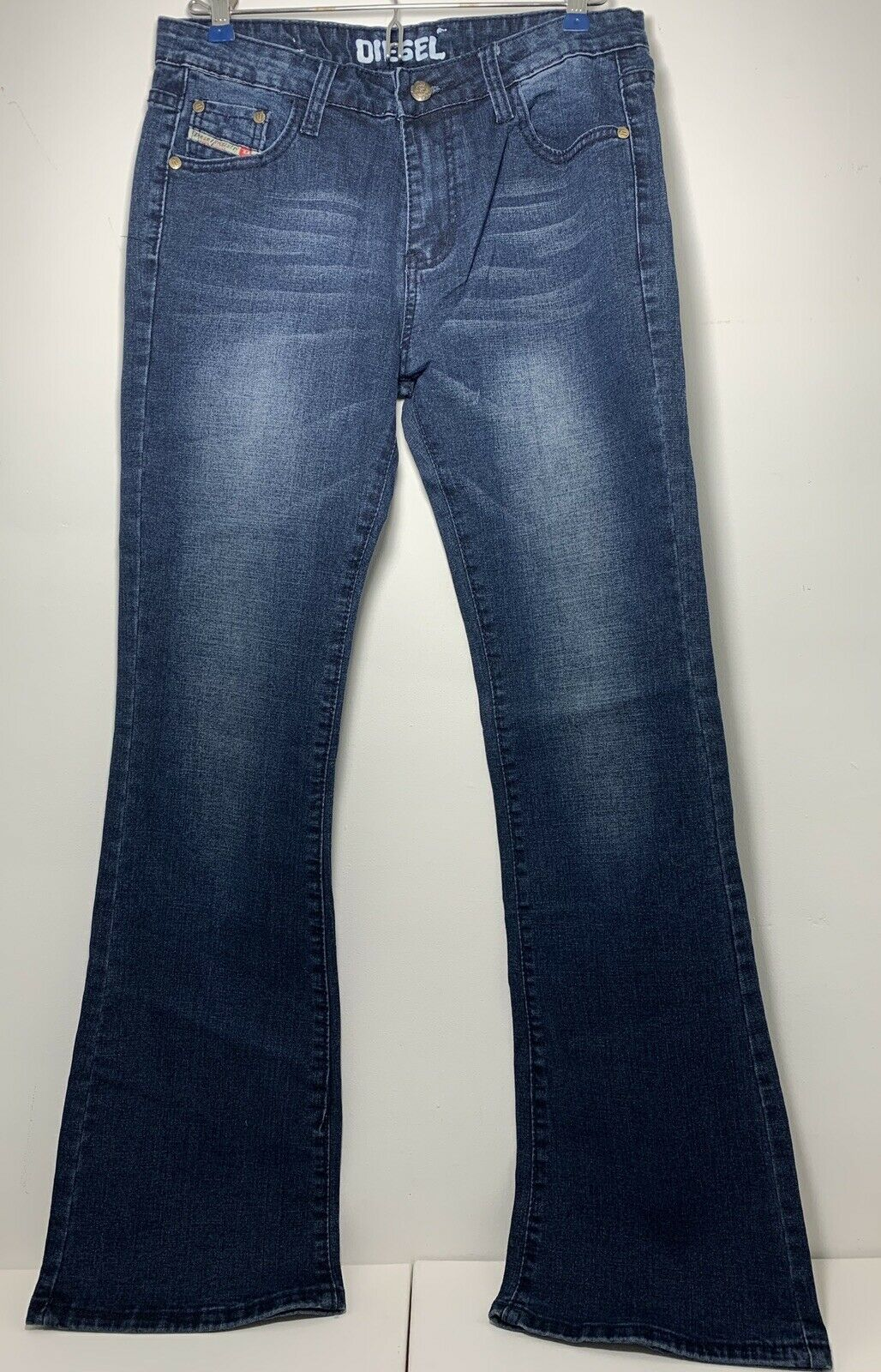 DIESEL Women's Slim Boot Cut Jeans Stretch Wash 30x31