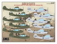 AOA decals 1/32 DOGS OF WAR (1) US Army/USAF O-1 Bird Dogs in the Vietnam War