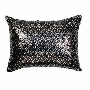 Tivoli-Black-Sequin-Filled-Brunch-Cushion-30cm-x-40cm-Ultima-Collection