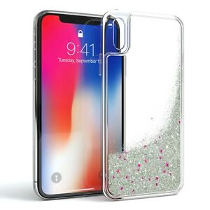 coque iphone x paillette