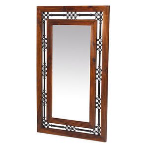 Jali Sheesham Tall Mirror Bedroom Frame Solid Wood Indian