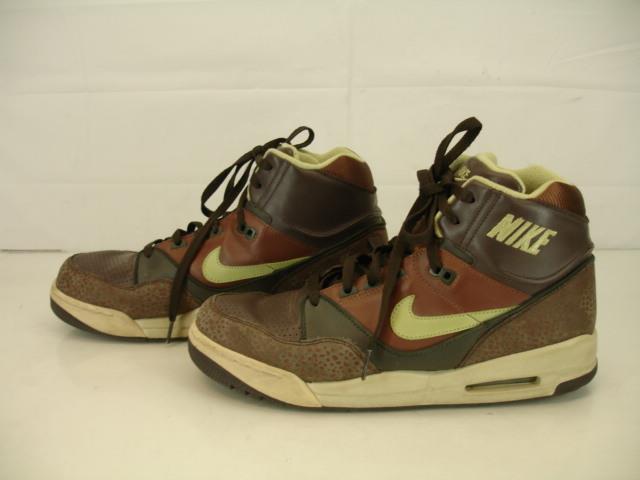 Mens 11 M NIKE AIR ASSAULT SAFARI PACK Dark Cinder Pea Pod Army 315064-231 Shoes