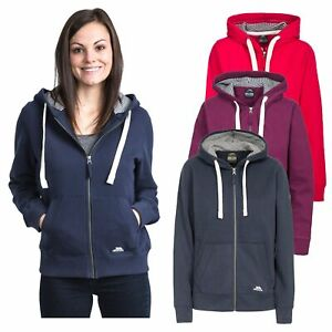 Trespass Womens Long Sleeve Zipped Hoodie Casual Pullover Swag