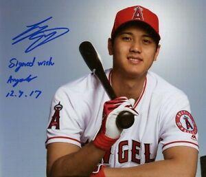 Shohei Ohtani Autographed Signed 8x10 Photo ( Angels ) REPRINT