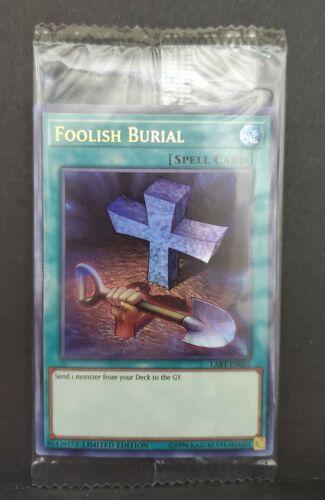 FOOLISH BURIAL LART-EN016 Lost Art Promo SEALED Yu-Gi-Oh