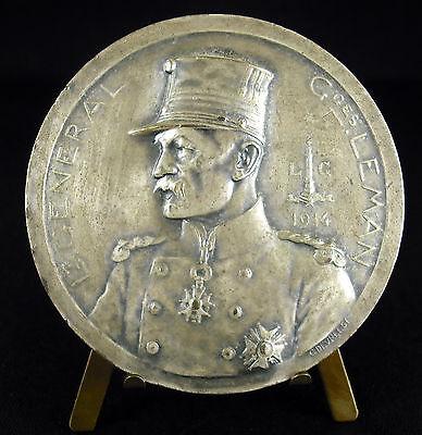 Sporting Médaille Général Belge Georges Leman Belgique Bataille De Liège Fort De Loncin